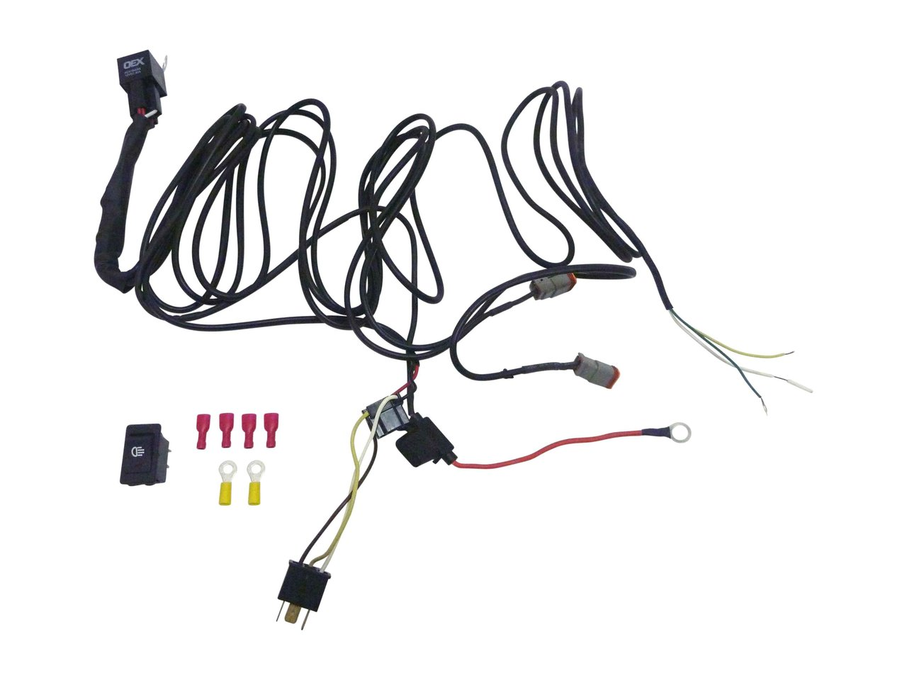 Great Whites 12v Driving Light Wiring Harness Kit Off Road Kits