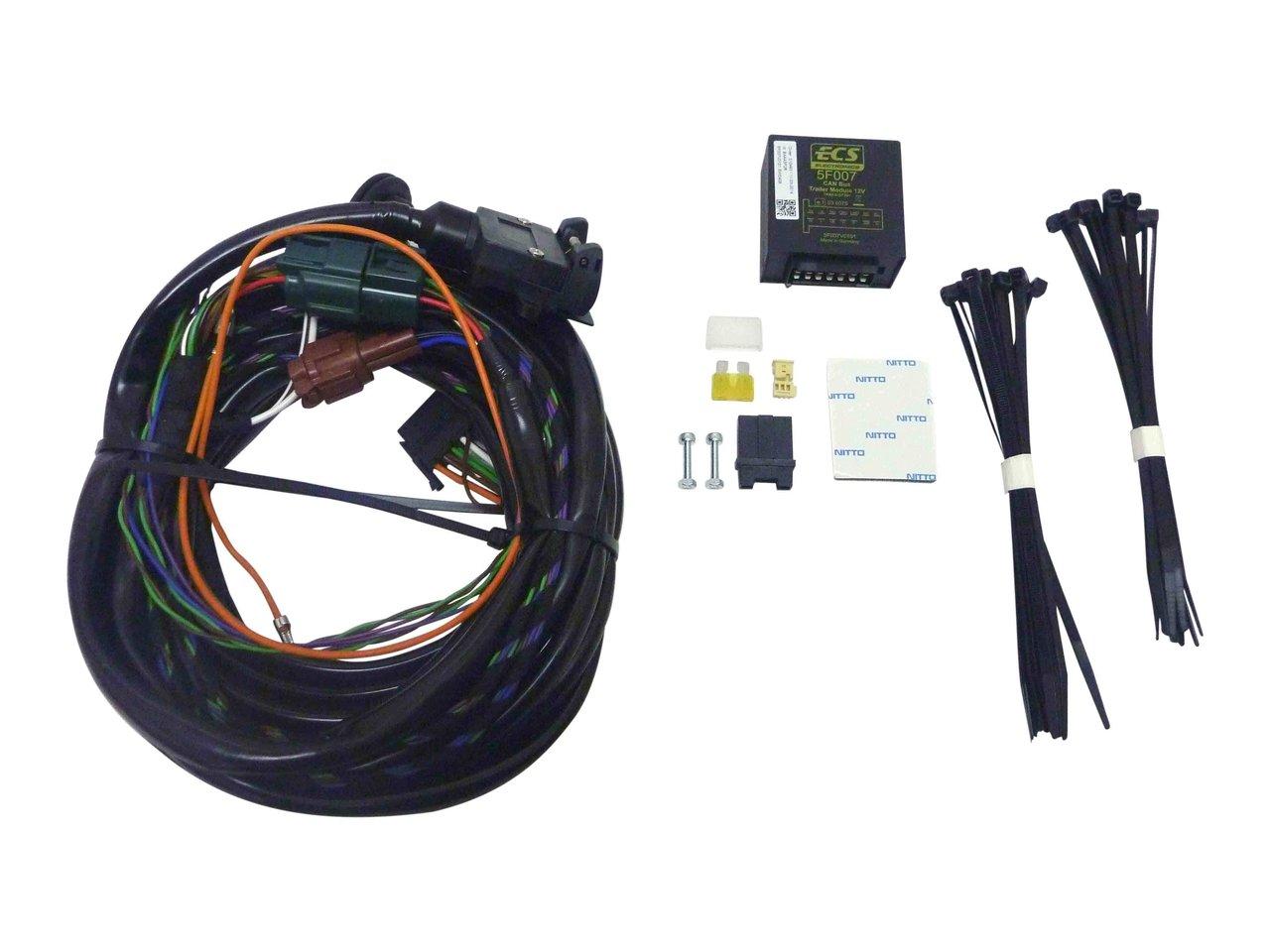 milford towbar wiring harness volkswagon vw amarok 4x4 cabchassis rh allfourx4 com au tow bar wiring harness ford territory tow bar wiring harness diagram