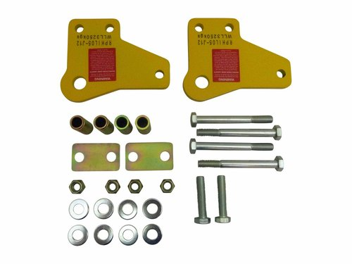 Roadsafe Recovery Tow Point Pair Toyota Hilux 2005 On
