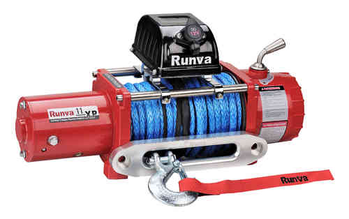 Runva Electric Winch 11XP with Dyneema Rope