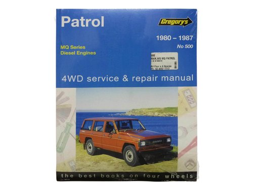 Gregorys Workshop Manual for Nissan Patrol MQ SD33 SD33T Diesel 500