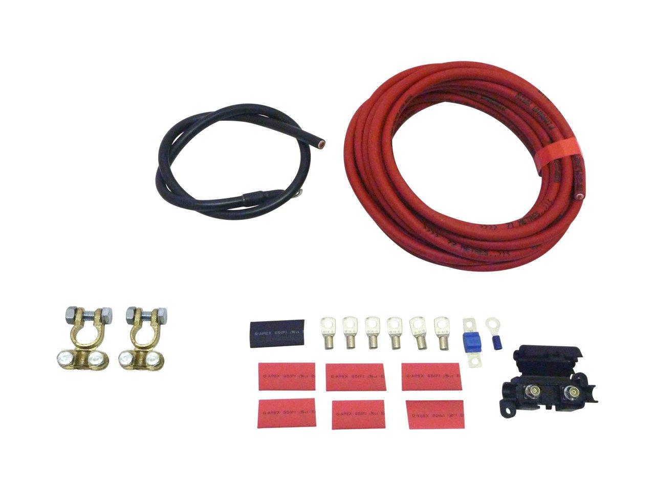 Dual Battery Wiring Kit Piranha Fuel Pump