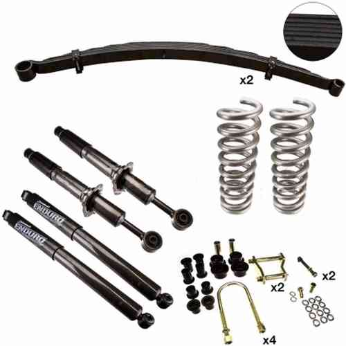 Drivetech 4x4 30mm Colorado RG Heavy Duty Suspension Kit with Front Accessories