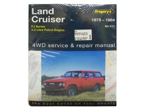 Gregorys Workshop Manual for Landcruiser FJ40 FJ45 FJ55 FJ60 2F Petrol 511