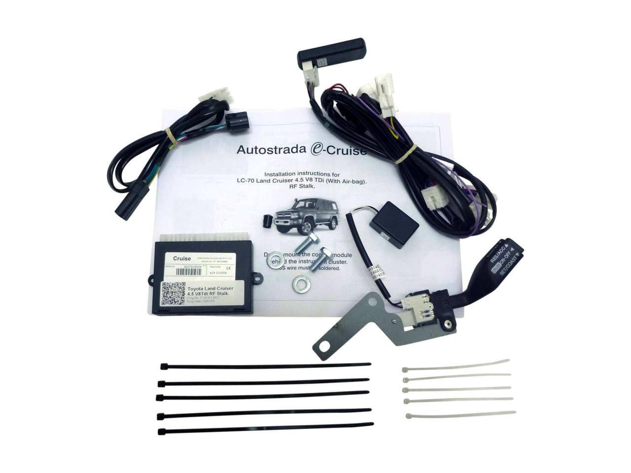 Cruise Control Kit Plug Play Suitable For Landcruiser Vdj7 Wiring Harness Vdj 2007 On With Airbag