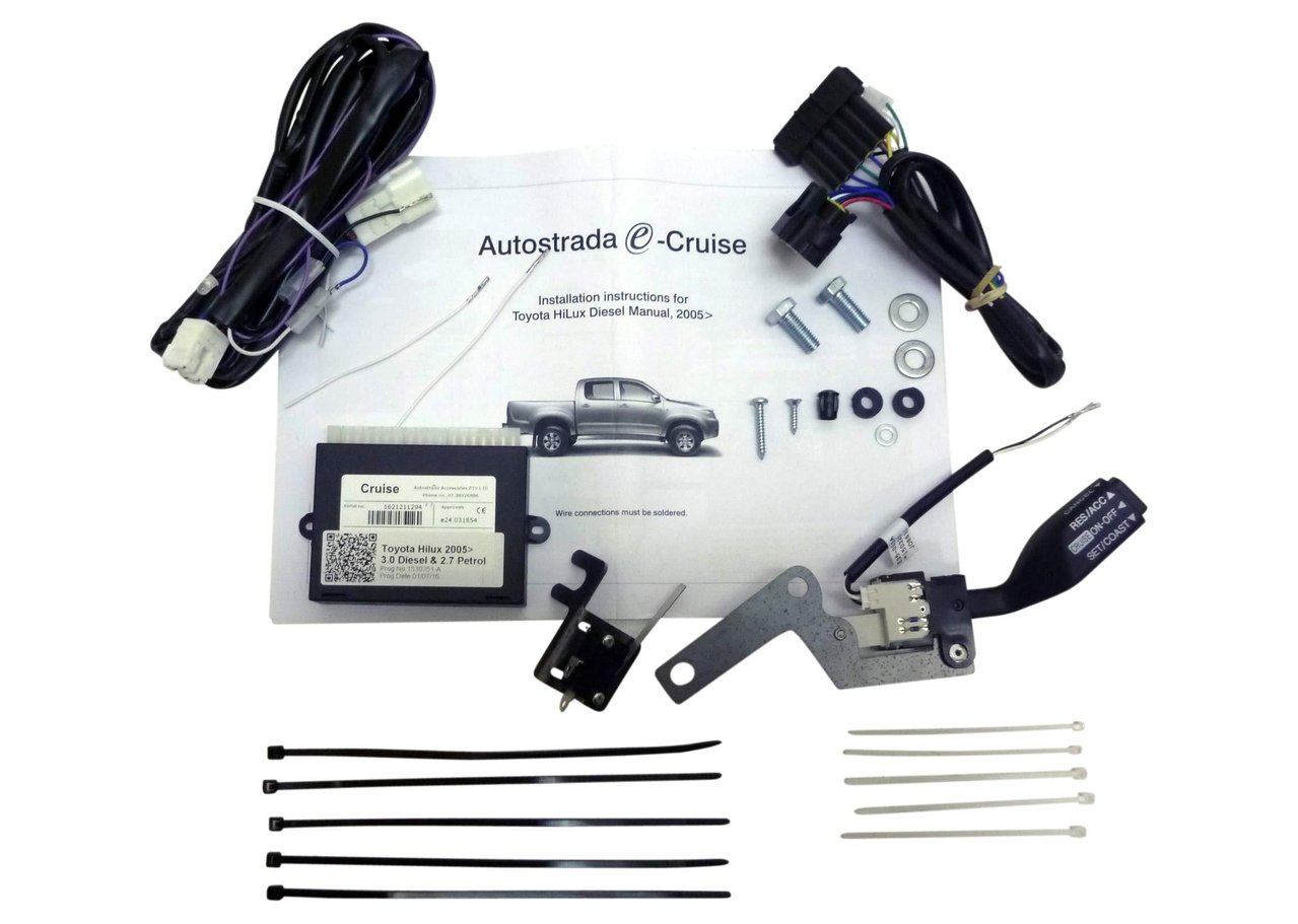 Cruise Control Kit Plug & Play suitable for Hilux KUN26 D4D 3Ltr