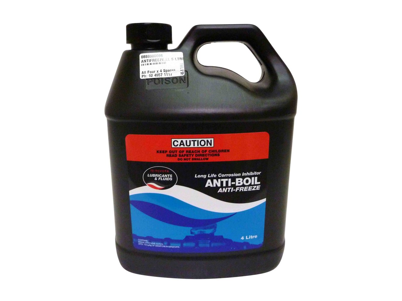 long life red coolant suitable for engines genuine rh allfourx4 com au toyota red coolant durability toyota red coolant life