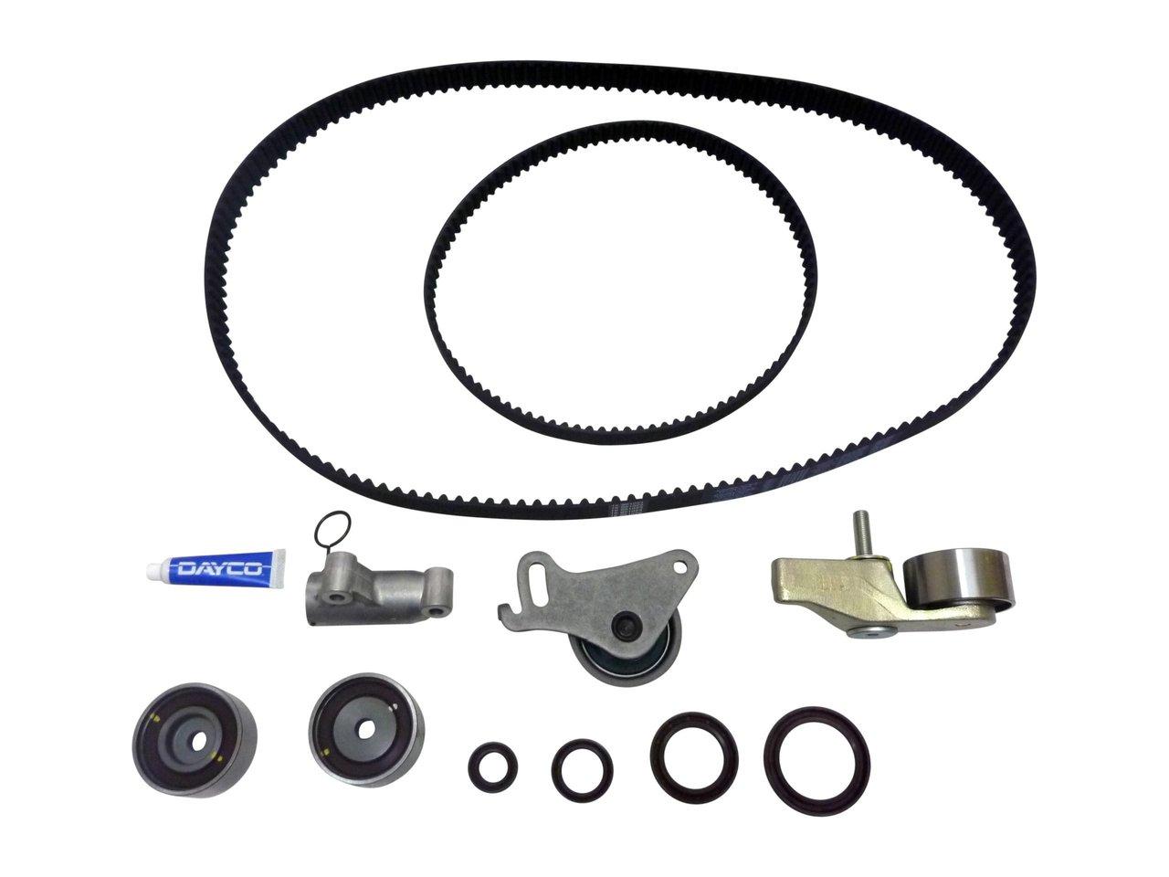 Timing Belt Kit For Mitsubishi Triton Challenger 25 Turbo Diesel 1999 Isuzu Rodeo 2 Suitable Dayco Ktba281h