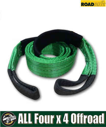 Roadsafe Recovery Tree Trunk Protector 3m 75mm 12000Kg Green/Black SB604