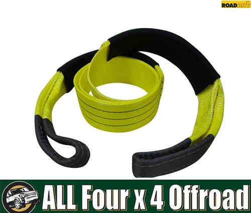Roadsafe Recovery Equaliser Strap 2.5m 100mm 6000Kg Yellow/Black SB605