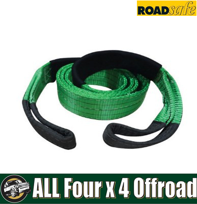 Roadsafe Recovery Tree Trunk Protector 12000kgs Green/Black SB610