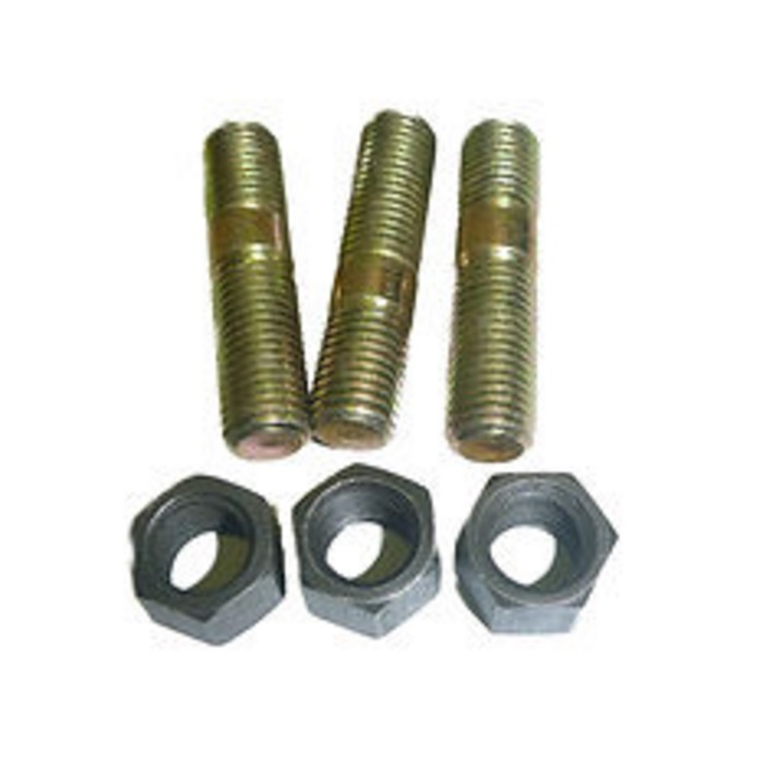 Exhaust Manifold Stud Nut Kit suitable for Landcruiser H 2H 12HT B 3B 13BT  3F