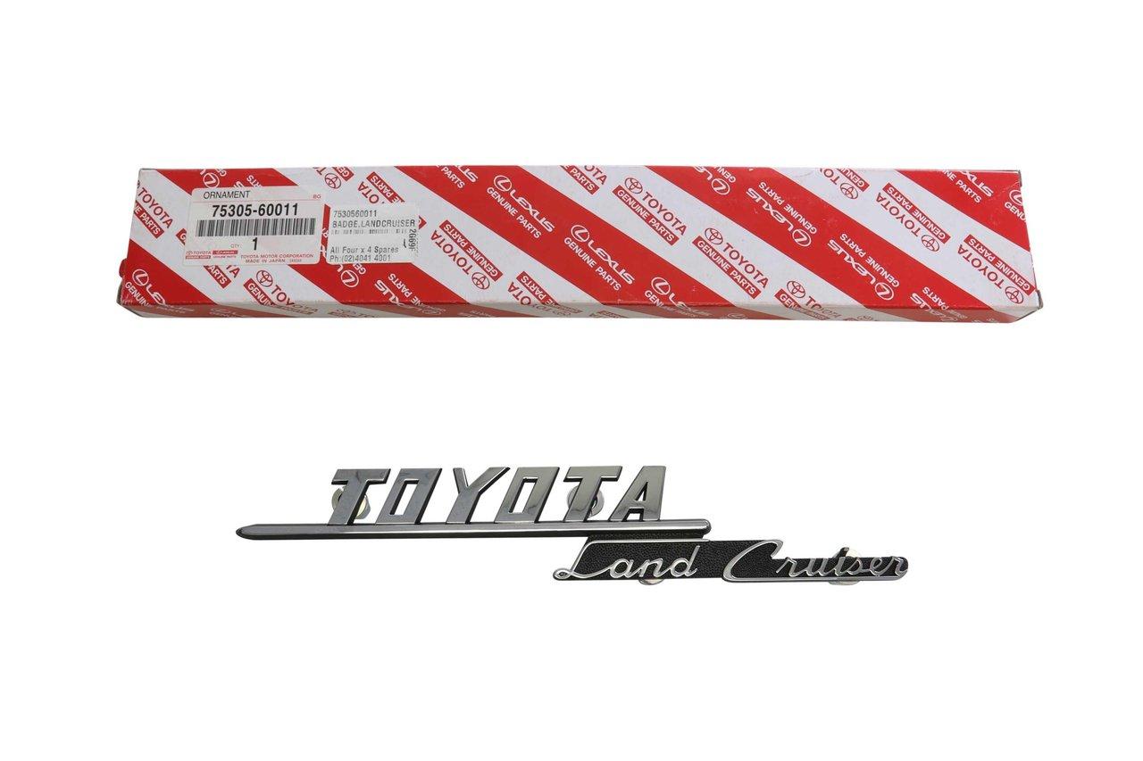 Fender Badge Land Cruiser Suitable For Landcruiser 40 Series Fj40 1973 Toyota Parts Fj45 Up To Genuine