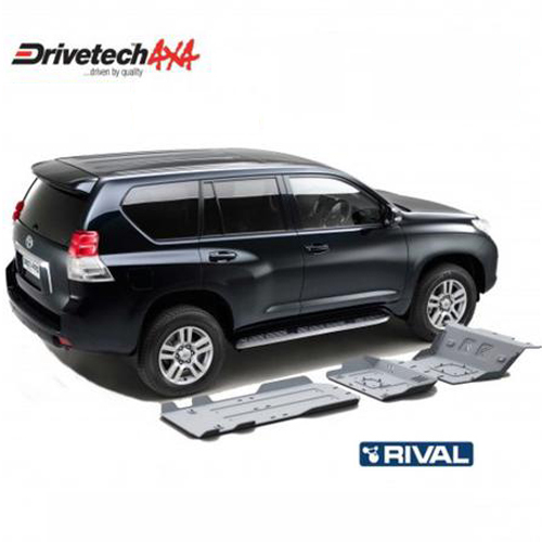 Underbody Protection Bash Plates suitable for Prado 150 Series