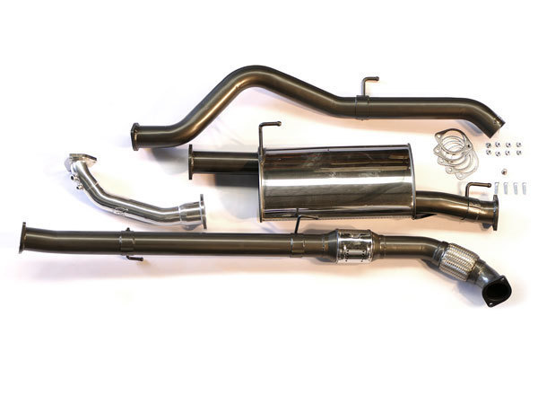 Legendex Exhaust suitable for Nissan Navara D40 3 0L TD V6 V9X