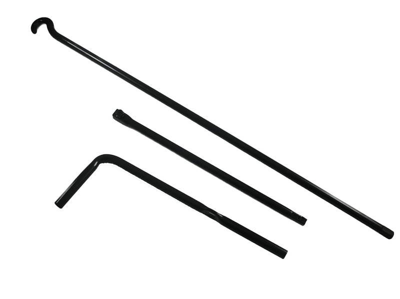 3 piece jack handle suitable for hilux landcruiser patrol genuine