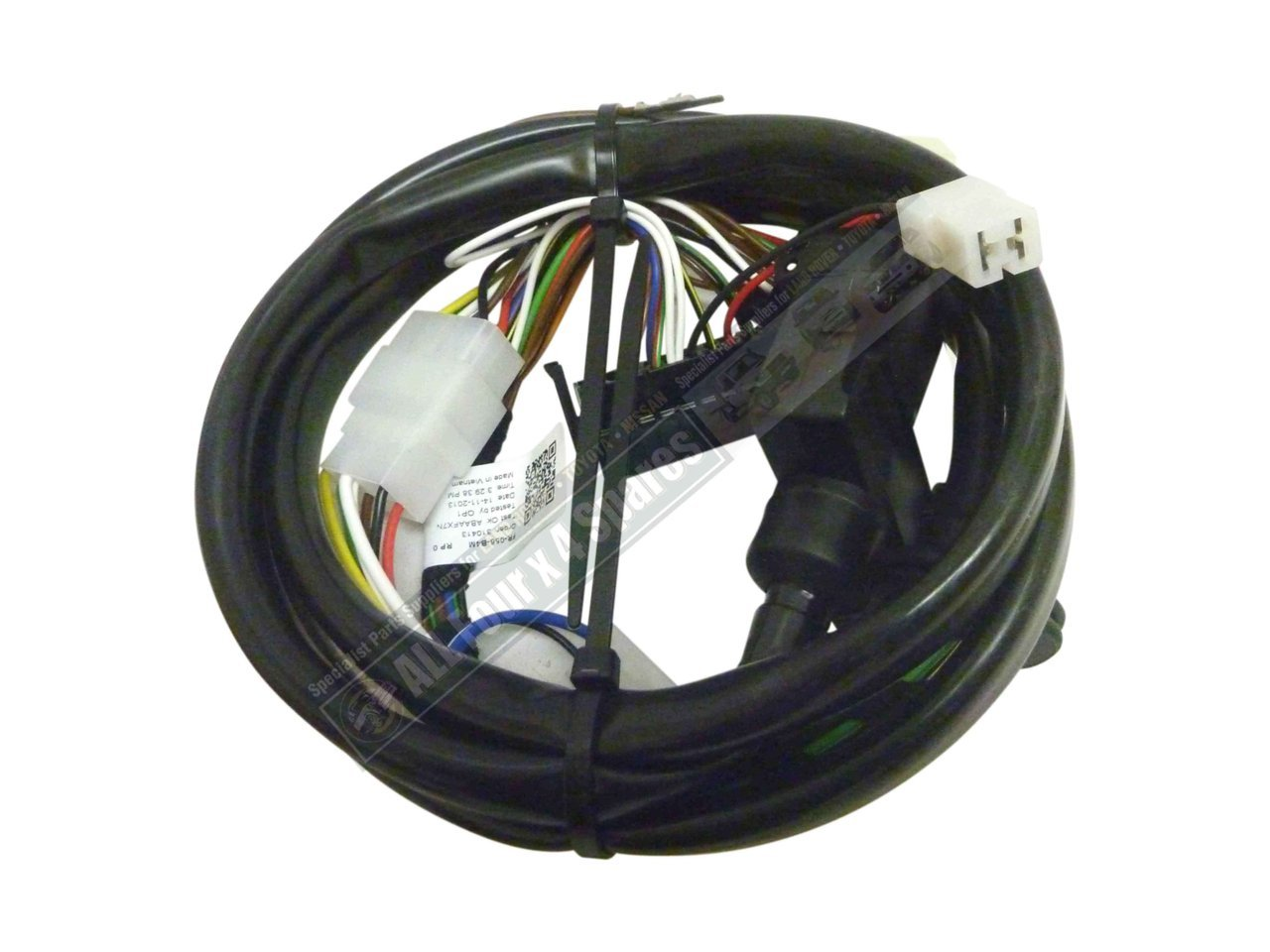 8 Pin Trailer Wiring Harness Video Milford Towbar Ford Territory 2004 On S 6 Plug Receiver Pins