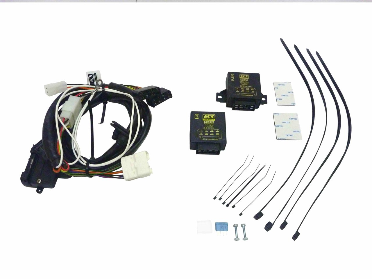 milford towbar wiring harness suitable for toyota prado 150 2009 on