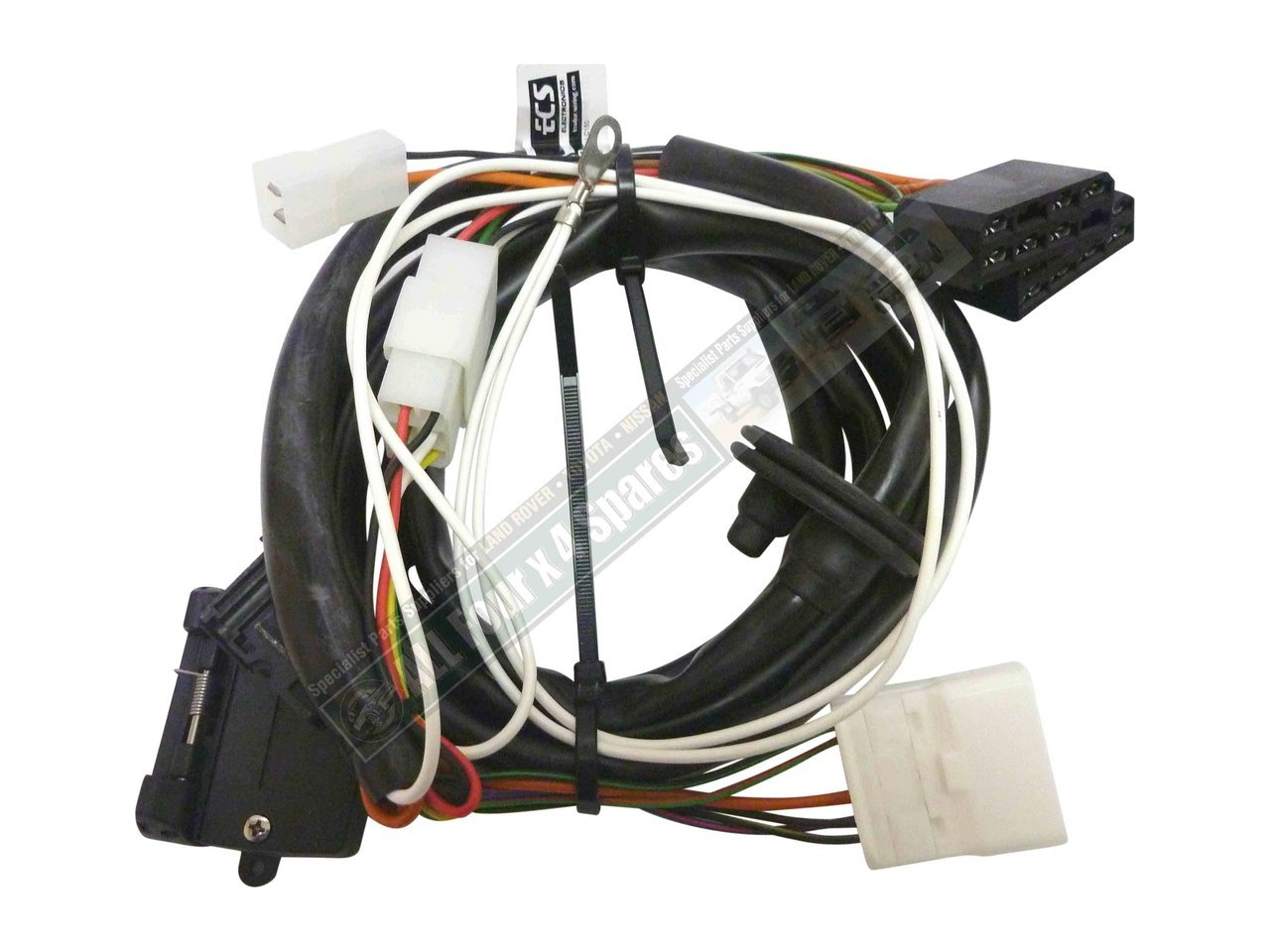 milford towbar wiring harness suitable for toyota prado 150 rh allfourx4 com au Truck Wiring Harness prado trailer wiring harness