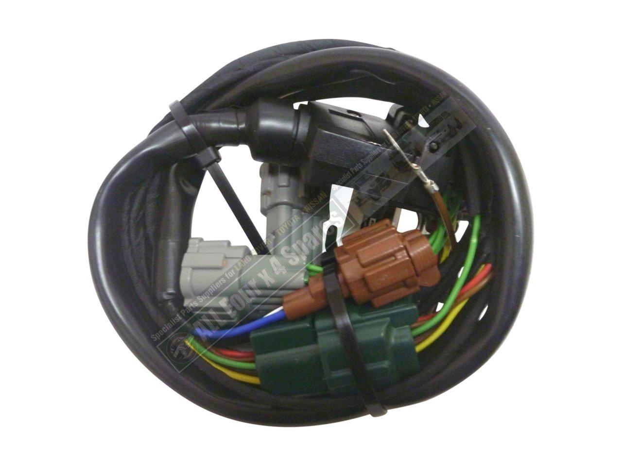 Nissan Patrol Tow Bar Wiring Harness : Milford towbar wiring harness nissan navara d on