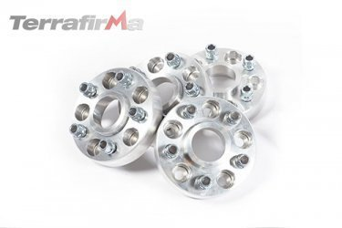 30mm Aluminium Wheel Spacers Discovery 3 Range Rover Sport L322