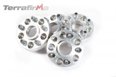 30mm Aluminium Wheel Spacers Discovery 2 and Range Rover P38