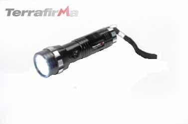 Terrafirma LED Aluminium Glovebox Torch LED 3x AAA TF378