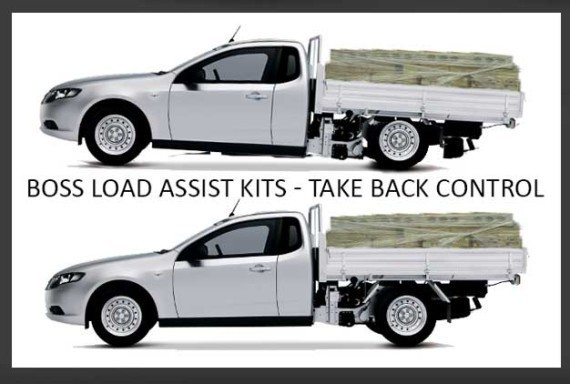 Dodge Ram 1500 Airbag Rear Suspension LA-70