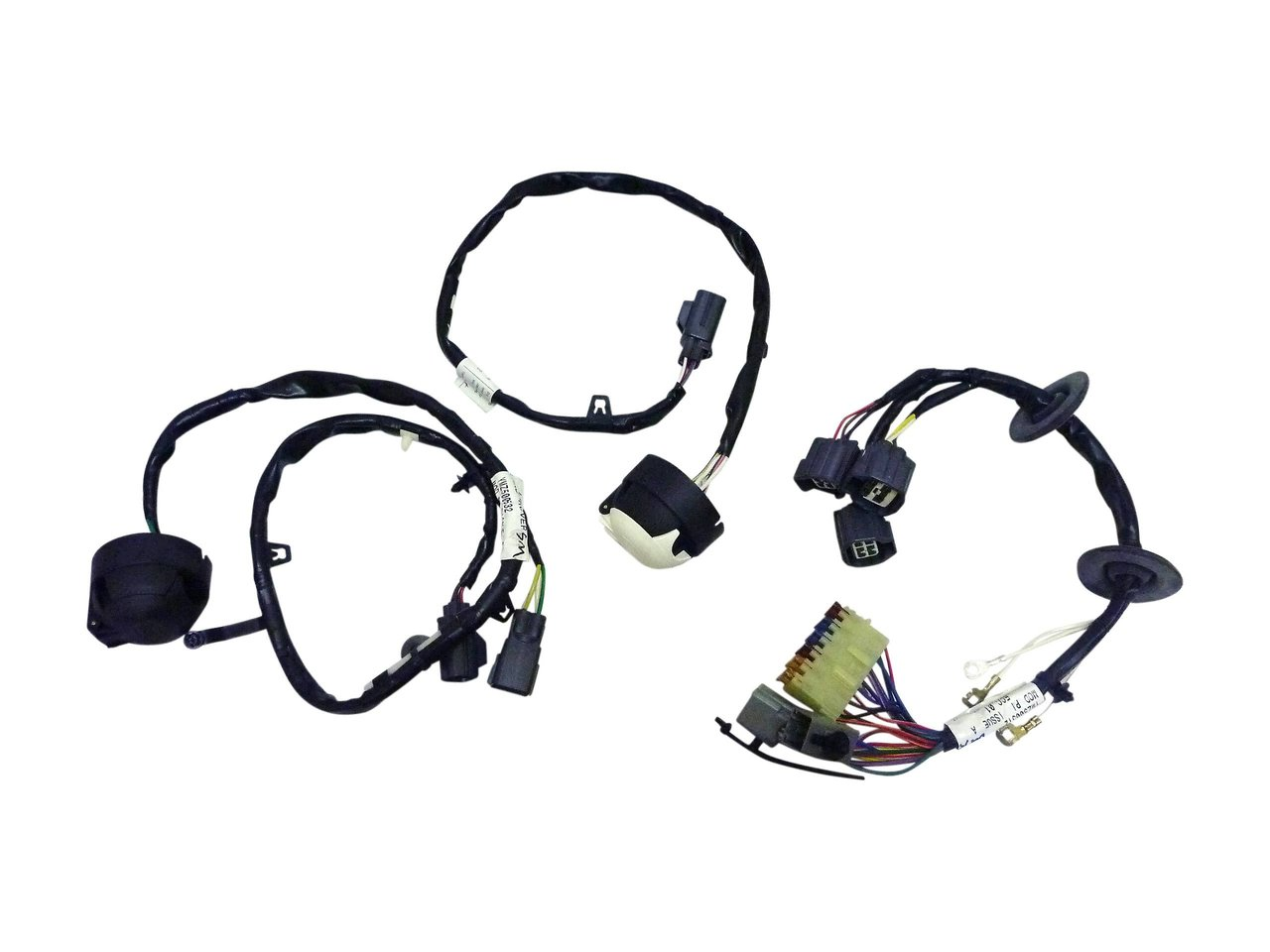 Trailer Wiring Harness Two Plug Land Rover Discovery 3 Genuine Diagram Aftermarket Ywj500201