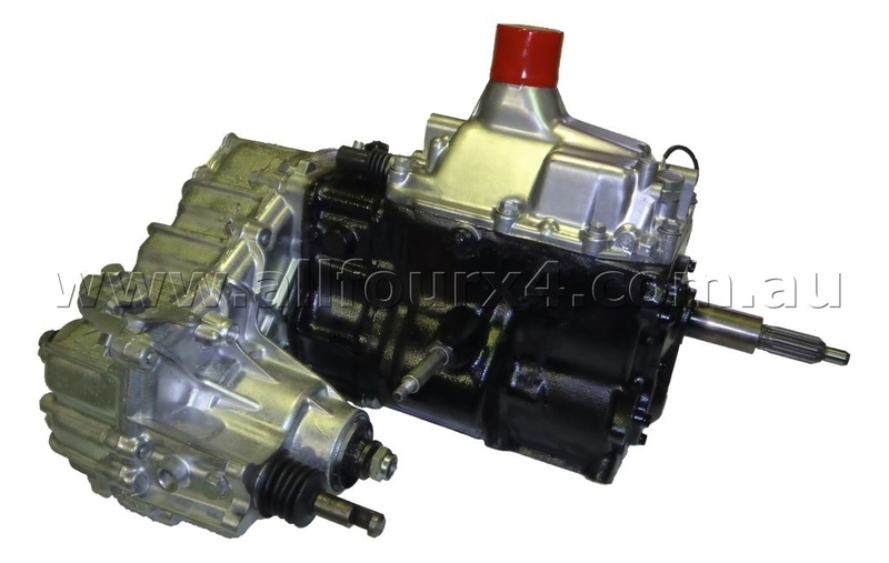Exchange Gearbox & Transfer suitable for Landcruiser 5 Sp 83-89