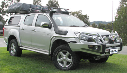 Safari Snorkel for Isuzu D-Max and MU-X 3.0L Turbo Diesel SS175HF