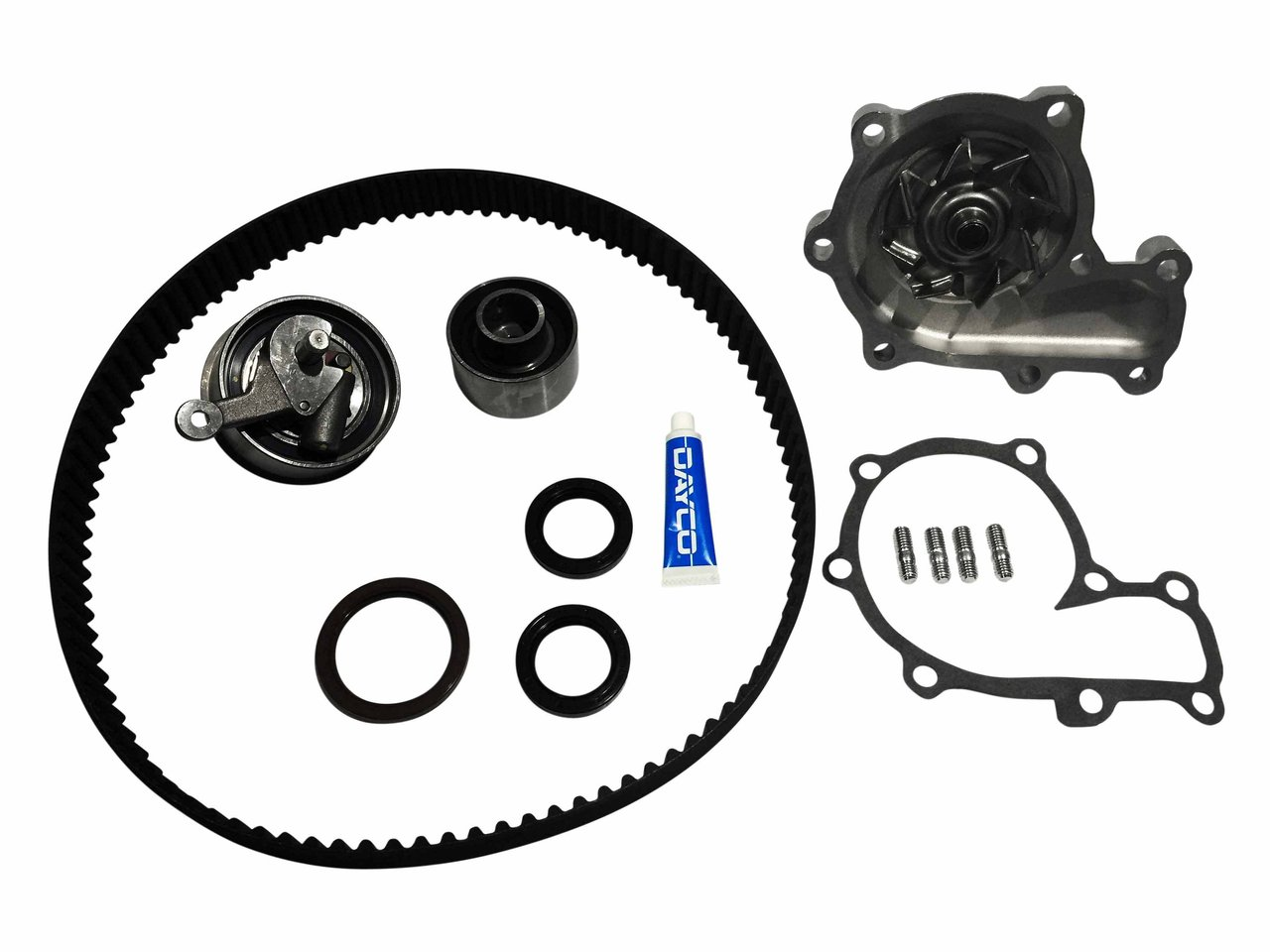 Timing Belt Water Pump Kit For Mazda Bt50 Ranger 30l Turbo Diesel 1999 Isuzu Rodeo Suitable Pj Dies Ktba253p
