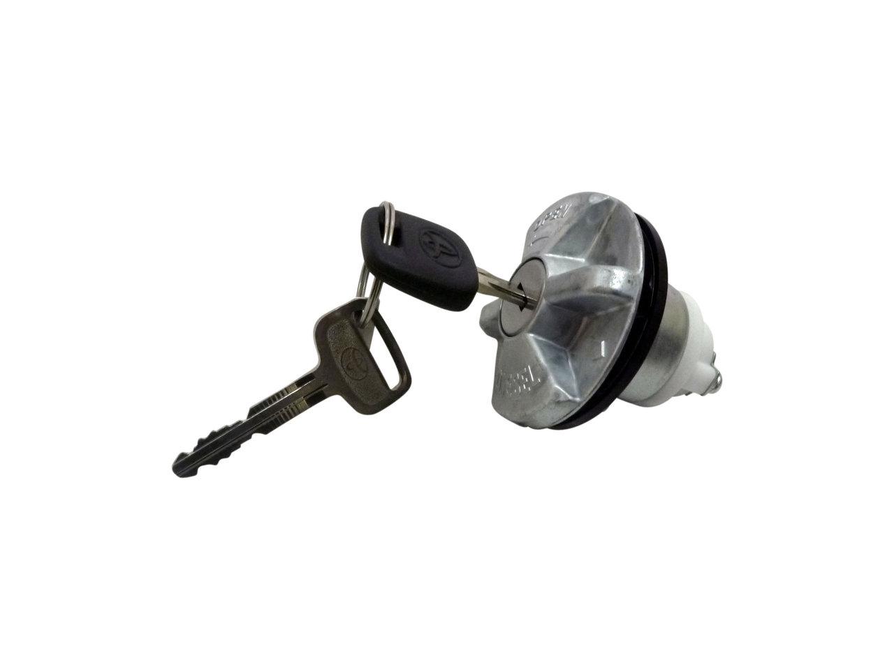 Locking Fuel Cap W Key Suitable For Hilux Kun26 Kun16 Trayback