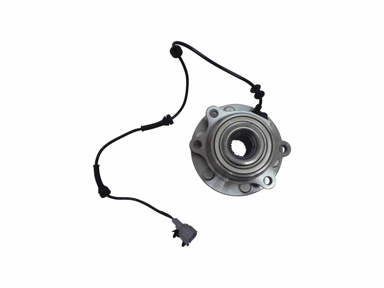 front wheel hub with bearing for 4wd nissan navara d40