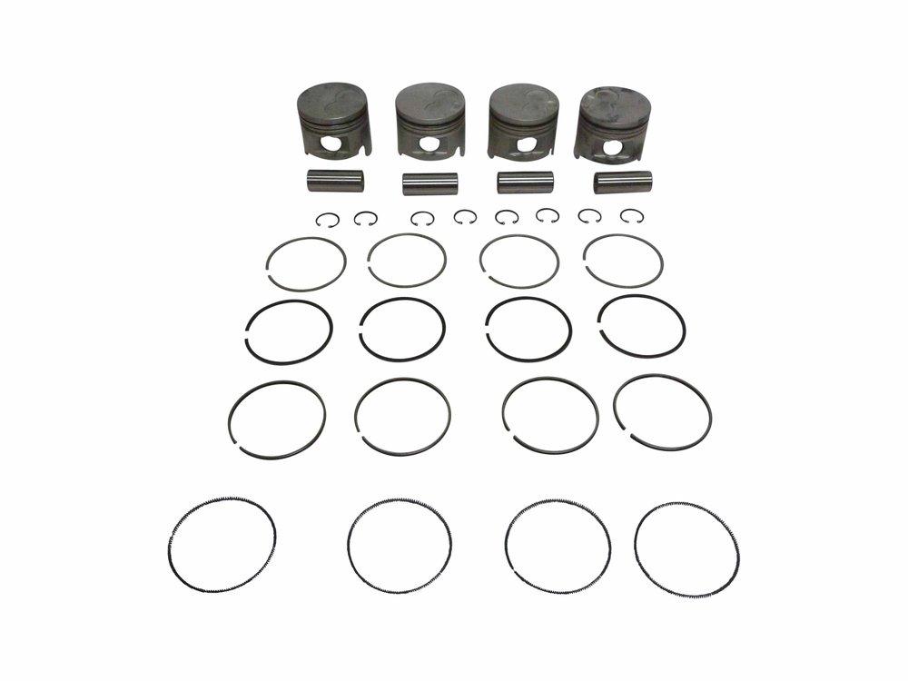 Piston & Ring Set suitable for Hilux 2 8L 4 Cyl Diesel 3L LN106