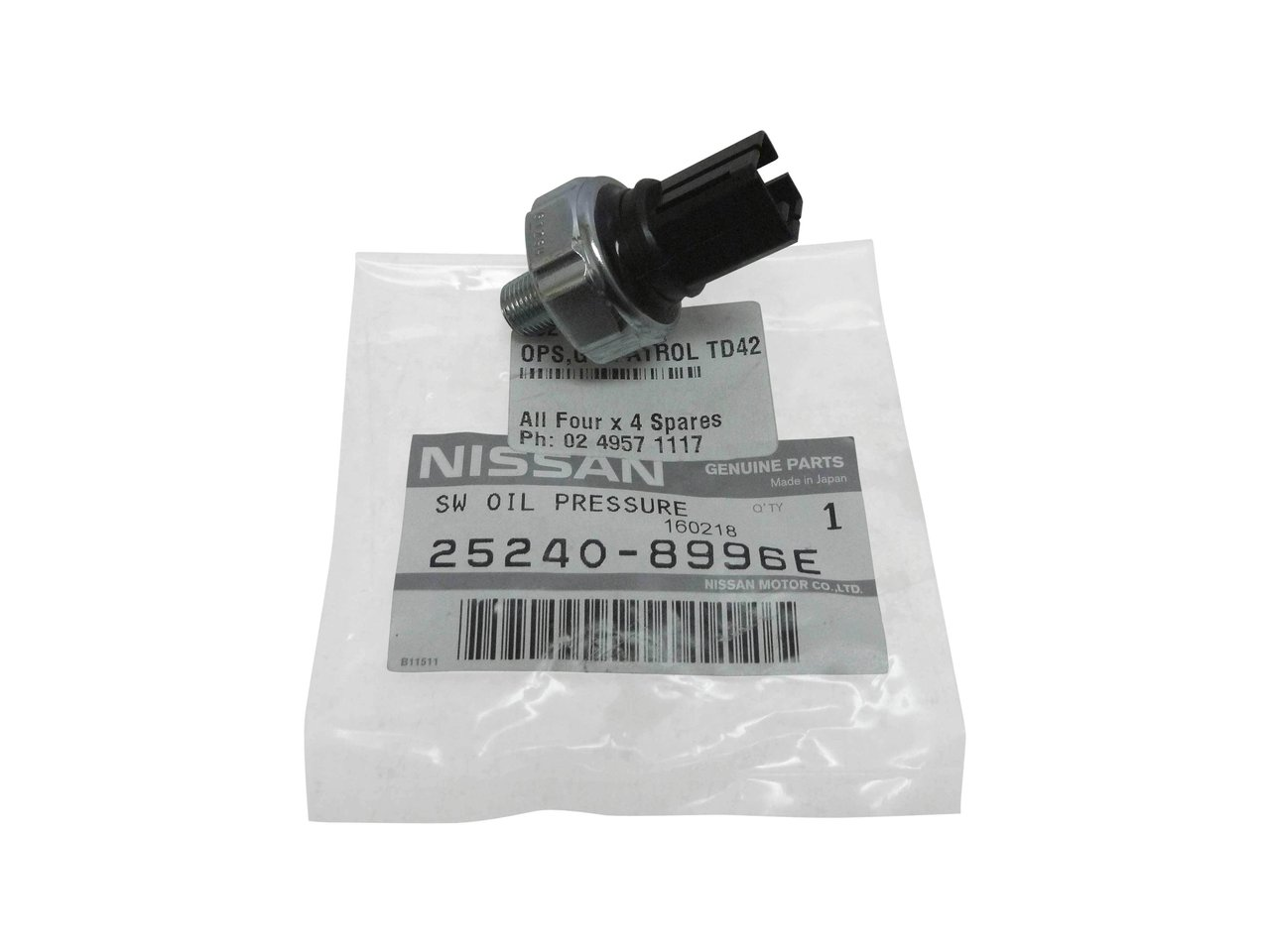 Nissan Patrol Engine Oil Oem Genuine Oil Filter Housing To