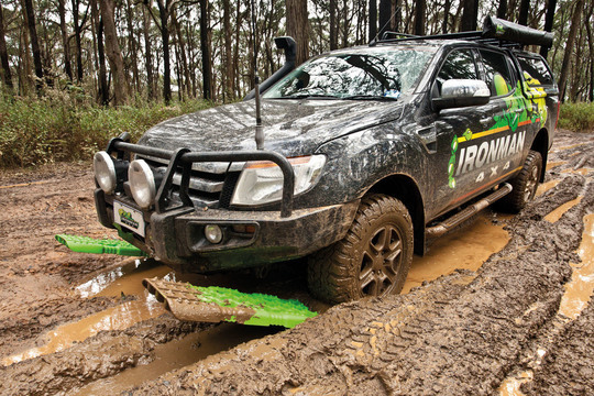 Getting down & dirty: Driving in Mud