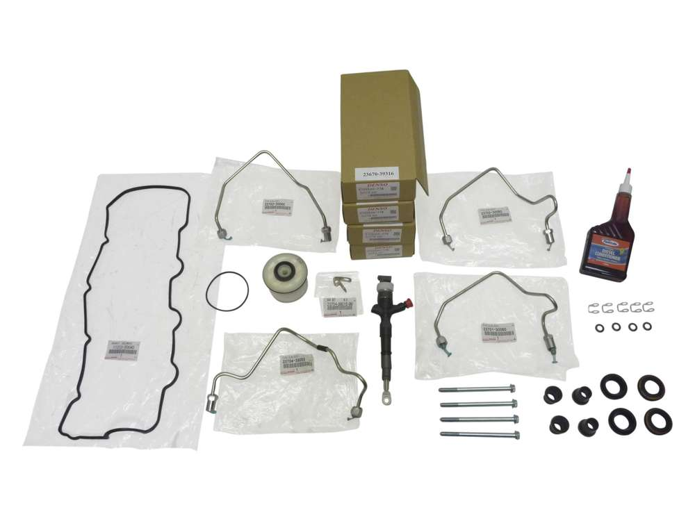 Complete Fuel Injector Replacement Kit suitable for Hilux