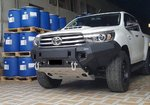 Drivetech 4x4 Rival Aluminium Bumper Bar suitable for Hilux GUN126 2015 on