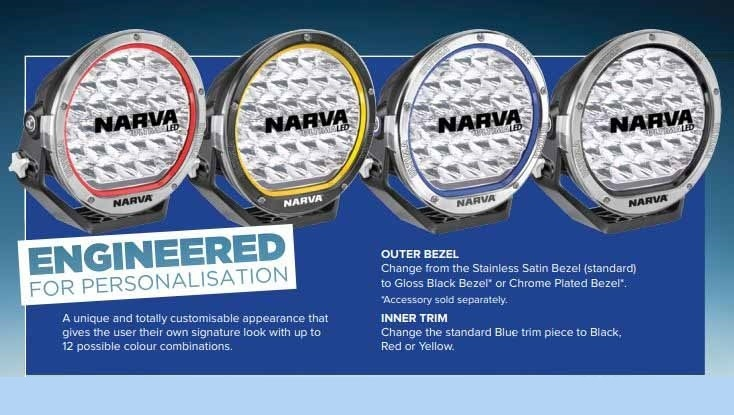 Ultima Wiring Harness Australia : Narva ultima led driving light pair with wiring harness
