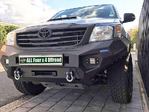 Drivetech 4x4 Rival Alloy Bumper Bull Bar suitable for Hilux KUN26