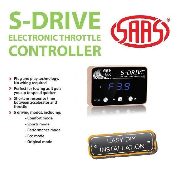 SAAS S-Drive Throttle Controller Pajero NS NX Triton ML MN