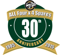 All Four x 4 Spares - 30 year anniversary